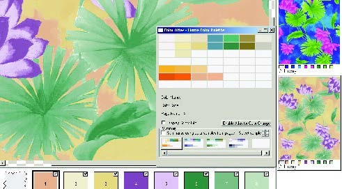 screenshot of drag and crop colors from custom color atlas