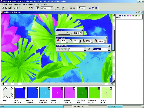 screenshot showing how to select advanced color overlay mixing methods