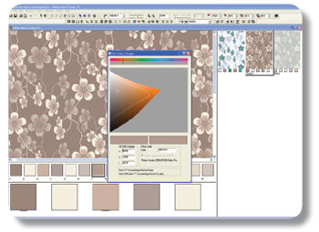 Screenshot of example of NedGraphics Calibration