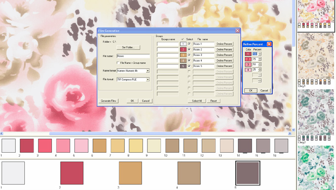 Screenshot of example of Easy Coloring Pro