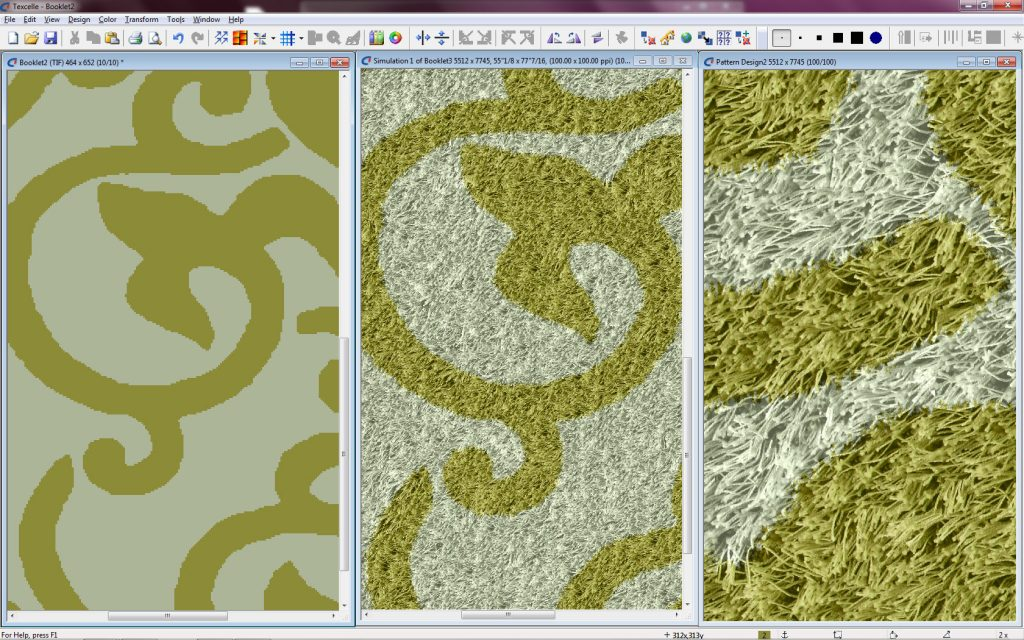 screenshot of Texcelle's multiview texture simulation plug-in