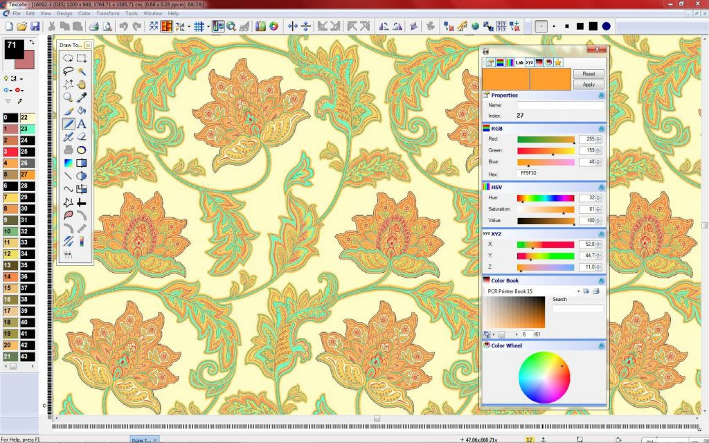 Texcelle Jacquard And Carpet Design Software Nedgraphics
